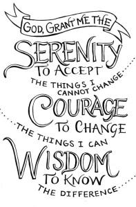 Thriving-Baby-Boomers - Spirituality - Wisdom - Serenity Prayer image