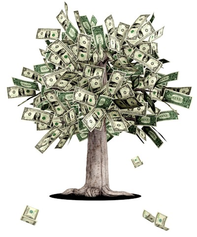 Thriving-Baby-Boomers - Financial Well-Being - money tree image