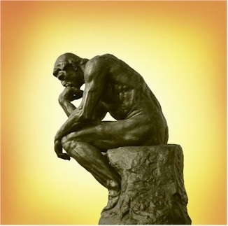 Thriving-Baby-Boomers - New Thought - The Thinker Statue