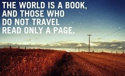 Thriving-Baby-Boomers - Travel - The world is a book, and those who do not travel read only a page.