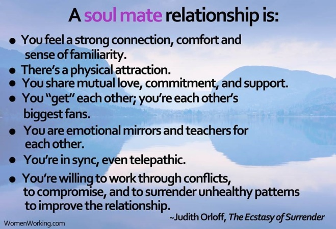 Thriving-Baby-Boomers - Comittment - A list of what A Soul mate relationship is...