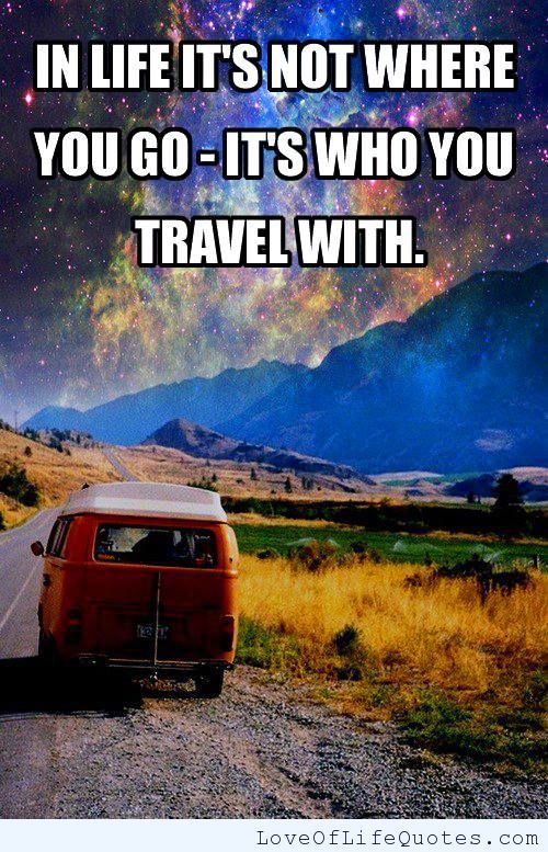 Thriving-Baby-Boomers - Companionship - In life, it's now where you go - it's who you travel with.