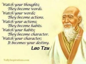 Thriving-Baby-Boomers - Spirituality - Taoism - Lao Tzu quote