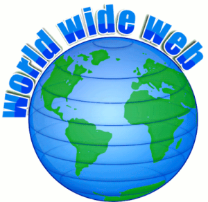 Thriving-Baby-Boomers - Online Business - Picture of a globe with the words, World Wide Web