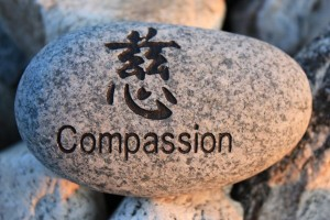 Thriving-Baby-Boomers - Spirituality - Compassion for Others - Compassion rock