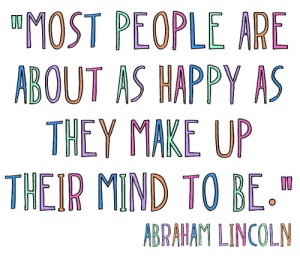Thriving-Bab-Boomers - I'm So Happy - Abraham Lincoln quote on happiness