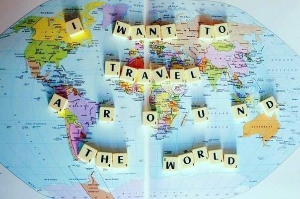 Thriving-Baby-Boomers - Travel - Map - I want to travel around the world